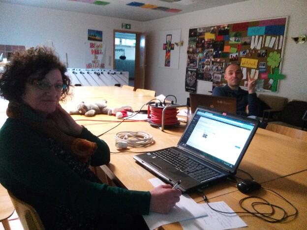 Webseiten-Workshop im Jugendheim