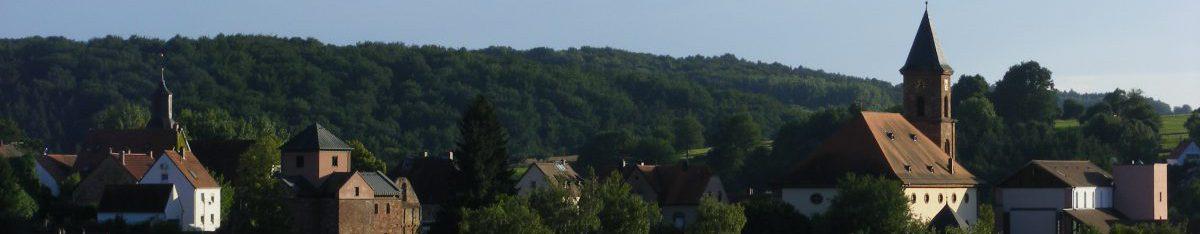 Prot. Kirchengemeinden  Hornbach-Brenschelbach  und Althornbach